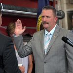 Joseph Finn sworn in as @Bostonfire commissioner today http://t.co/EI71P1nN4A http://t.co/vGnKGNRPqx