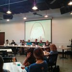 The Symposium on Women in Craft Beer.. Very informative! #STLCBW http://t.co/gpMfwInlxC