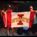 New flag going up at the cabin #cyclONEnation http://t.co/VynkrLGYR5