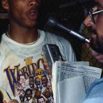 RT @ArashMarkazi: Byron Scott after the Lakers won it all 1988. Loved the old caricature shirts. http://t.co/bSkEGMoX5H