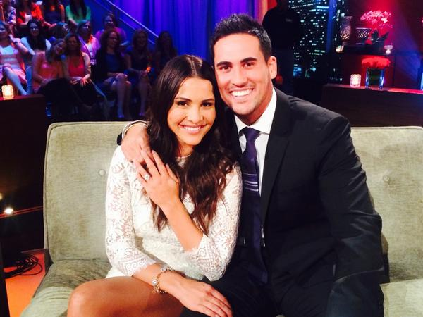 Congrats to the lovebirds @AndiDorfman @jmurbulldog #TheBachelorette http://t.co/CErissR9iL