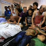 "RT @sabbah: GRAPHIC: More Palestinian ""terrorists"" targeted by Israeli ""self defence"" in #GazaUnderAttack http://t.co/0BBUBThLfU"