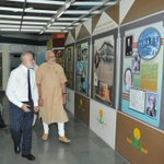 PM Shri @narendramodi going round the exhibition at the 86th ICAR foundation day & awards ceremony. http://t.co/y7hvcVdemp