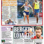 And heres the back page on Hampden hero @LibbyCleggs Commonwealth gold. #scotpapers #Glasgow2014 #GoScotland http://t.co/cHTg5Q5obr