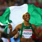 RT @SuperSportTV: #Glasgow2014 - Nigerias Blessing Okagbare won GOLD in the womens 100m http://t.co/O6ofnX7iIc #SSAthletics http://t.co/o0OWaWkVDW