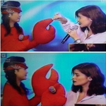 Shes Dating The Lobster! @annecurtissmith @VhongX44 ???? (c) @eloisamorong Thank you! :* =) http://t.co/CwDHBrRM4X