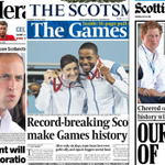 Medals, royals and a threat to a dancing teacake: this mornings front pages http://t.co/ZaXJe4tHQW http://t.co/DuHz4Tertj