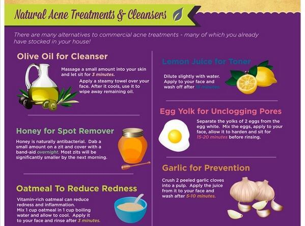 Natural Acne Treatments & Cleansers... http://t.co/LOv7FV4Qir