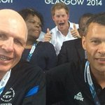 RT @thecgf: Another amazing royal photobomb at #Glasgow2014 !! http://t.co/Bx4kjjz5Ss