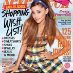 RT @seventeenmag: Super excited to announce our September issue cover star, the AMAZING @ArianaGrande! http://t.co/TLyawaJwxP #17Ariana http://t.co/Q426tyKnkk