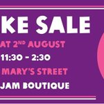 RT @oxjam_cardiff: We will be selling some of @sprinklescardif cute cakes at our Bake Sale in #cardiff on Saturday! Yum.. http://t.co/QfHQ8R47xq