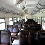 Interior of the passenger coaches to transport people to & fro the City. Isnt this good? get ready Kampala! @KCCAED http://t.co/ILc1KpNICY