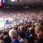 Hampden Park, 10.50am. A magnificent scene. #Glasgow2014 http://t.co/nmMxMgTY7P