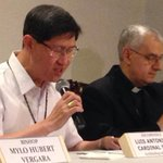 Cardinal Tagle confirms Pope Francis Visit to the Philippines from Jan 15-19, 2015 http://t.co/Z2EMaZC5jT