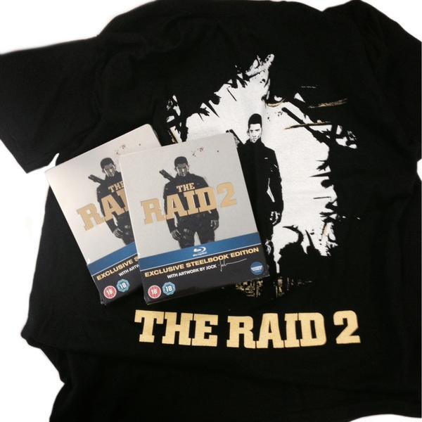 Follow @ForbiddenPlanet and RT to win a fantastic steelbook DVD copy of #TheRaid2! #Competition closes Friday! http://t.co/GS2tR4D8Aw