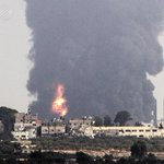#Gazas sole power plant down after #Israel attack - AFP Photo. #GazaUnderAttack http://t.co/PR5cxQYKlR