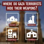 Last night, we struck 4 massive weapons caches that Hamas hid inside of mosques. http://t.co/aNUg81E5QR