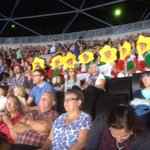 "RT @SarahjonesWG: ""@AllinsonStephen: Spot the Welsh supporters #2014gymnastics @Glasgow2014 http://t.co/fbF6BU0W2p""love this! @LlanelliGymClub"