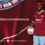 QUOTES: @EnnerValencia14 is delighted to have completed his move to the Boleyn Ground. #COYI #WelcomeValencia http://t.co/CzMlteDd59