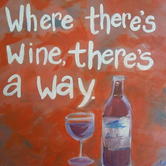 """Brilliant! RT @TheWineHub: """"When there's #wine there's a way"""" @winewankers @alawine @ReverseWineSnob @JMiquelWine http://t.co/2pikbtB10R"""