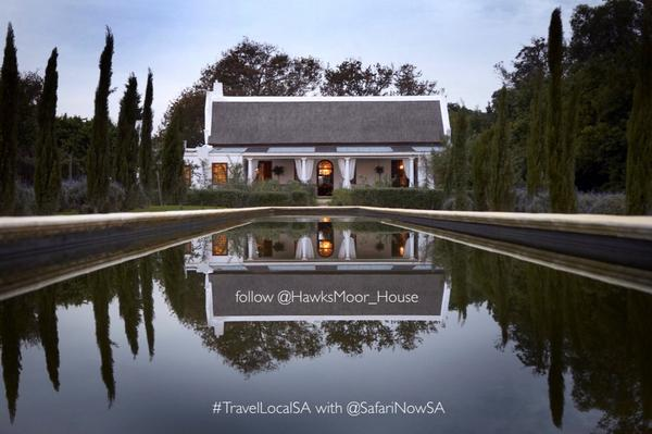 #TravelLocalSA GIVEAWAY7: @Hawksmoor_House via @SafariNowSA  Value: R3800 | to Enter Draw: FOLLOW Both & RT Once http://t.co/CMvDWgPehh