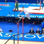 Solid performance @GymnationWales Clinton Purnell on bars. Mens artistic putting in a great performance. @TeamWales http://t.co/qG9yRFBGsH