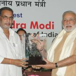 RT @PIB_India: Shri Radha Mohan Singh presenting the memento to Prime Minister, Shri @narendramodi at 86th Foundation Day of ICAR http://t.co/PwfWoOw4qH