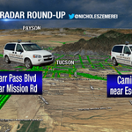 Tuesdays #RADARROUNDUP until 8:30 a.m. in #Tucson. Please, slow down! http://t.co/Ox6WpZaOAe