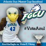 #ASunMascotCup Semifinal 2: To vote for @azultheeagle RT/FAV this tweet, or send tweet with #VoteAzul until 9pm http://t.co/Ahc3tq0jD8