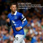 RT @Clemo89efc: Ross Barkley #EFC http://t.co/DT5YGDN3bI