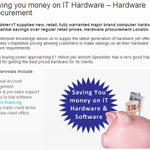 Hardware procurement for London businesses - 3 Years financing offered http://t.co/gOmCirhjiC  #entrepreneur http://t.co/3UMPPMuEdU