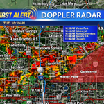 Storms trucking along quickly east through downtown #Orlando. #cflwx #wesh2storms http://t.co/kJs5nSoJer