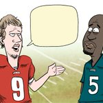 So what did Nick Foles think of Donovan McNabbs advice? Caption my new #Eagles toon: http://t.co/qUipwCuHNo http://t.co/O0XjsSp6Nx