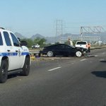 RT @_epinEfren: I-10 Westbound before Palo Verde exit, major accident. Left lane closure, traffic is stacking up bad. http://t.co/XNgOOJTVRB