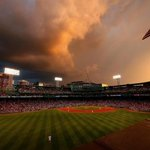 Monday's sunset at Fenway Park. http://t.co/yOz4HYPkrr http://t.co/RD6CVBDuDp