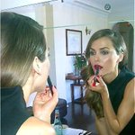 HAPPY NATIONAL LIPSTICK DAY @TinaTurnbowMUP My fav #bts Lipstick moment w/ beauty Keri Russell #NationalLipstickDay http://t.co/ffkjpVUonS""