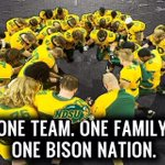 NDSU picked to win Missouri Valley FB crown. RT if you agree! Single game tix on sale Friday at 8am. #BisonPride http://t.co/i6ilq9Ou2d