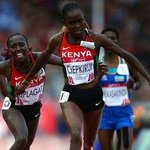 Medal sweep: Chepkirui wins gold in the womens 10,000m. Kiplagat was 2nd and Chebet was 3rd http://t.co/bx27jjL8Mx http://t.co/8Er0ukiTqW