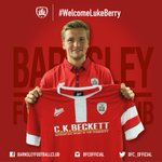 Luke Berry signs three year deal to bring him to Oakwell from Cambridge United #WelcomeLukeBerry http://t.co/hqlvnxb7aT