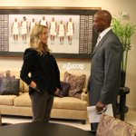 Byron Scott visiting with old friend & Lakers President @JeanieBuss in her office. http://t.co/MKJxGUwAFH