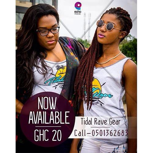 #TIDALRAVE MERCHANDISE!!!! Call now or else…… *drops.