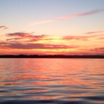 RT @kegoldenhar: Stunning sunset over Sylvan Lake last night #explorealberta #boating #fishing http://t.co/69m6wflBDN