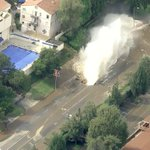 RT @LANow: PHOTO: Water main break near #UCLA; evacuations underway (from @KTLA video) http://t.co/eD4iJXqora