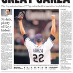 With Matt Garza back on the mound at the Trop, lets look at what happened nearly four years ago tonight. #Rays http://t.co/xPXuDbvuIU
