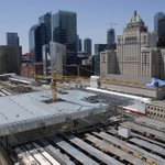 RT @DMayorKelly: Here are some pictures of the progress at the Union Station train shed. #Toronto http://t.co/Xy4GHoonWW
