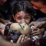RT @SahwishSulehria: A GIFT WHICH WAS NEVER GIVEN BEFORE.. Israel gifts Palestine 120+ dead bodies on Eid Day. #PrayForGaza http://t.co/M0FjN6qSOq