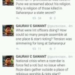 RT @DelhiMuse: #IStandWithGauravSawant Because the way he has tweeted the truth ...honest outspoken...Narendra Modi to please note http://t.co/2gdRYNOBRL