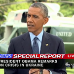 "Pres. Obama: ""If Russia continues on its current path, the cost on Russia will continue to grow"" - @ABCNewsLive http://t.co/IPLD3SIoQo"