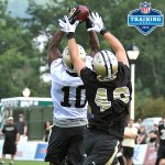 "#GoBeavs RT""@nfl: Drew Brees newest WR?! Hes DAZZLING in @Saints Camp: http://t.co/PYYI5Zvb2r #NFLTrainingCamp http://t.co/sRRCWq3hNf"""