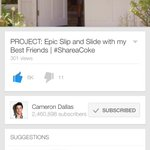 watch @camerondallas new video ???? seeing him happy makes me happy https://t.co/bQ9fZOpiV5 #ShareaCokeWithCam http://t.co/PTbodkRAgo x10